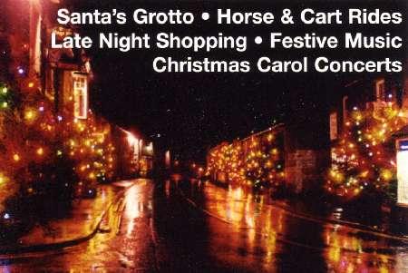 Castleton Christmas Lights - Discover Derbyshire and the Peak District