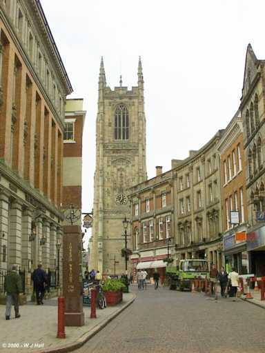 derby cathedral discover derbyshire and the peak district