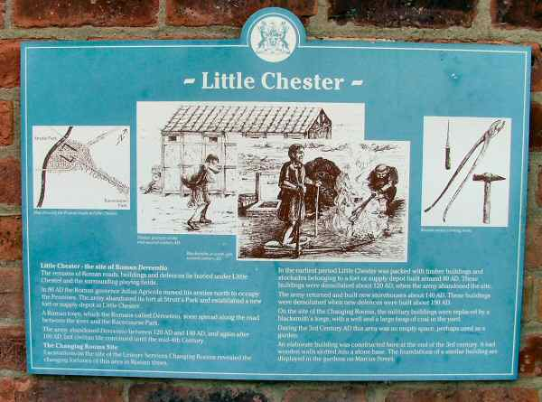 Information Board at Chester Green